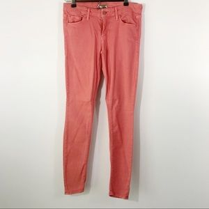 Mother The Looker Featherweight POP Pink Jeans, 28